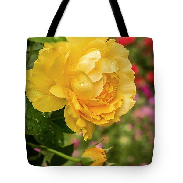 Rose, Julia Child Tote Bag