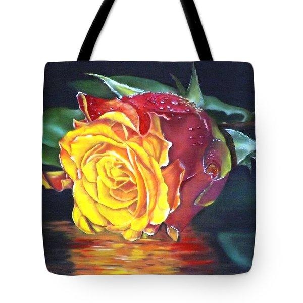 Rose Laura Tote Bag