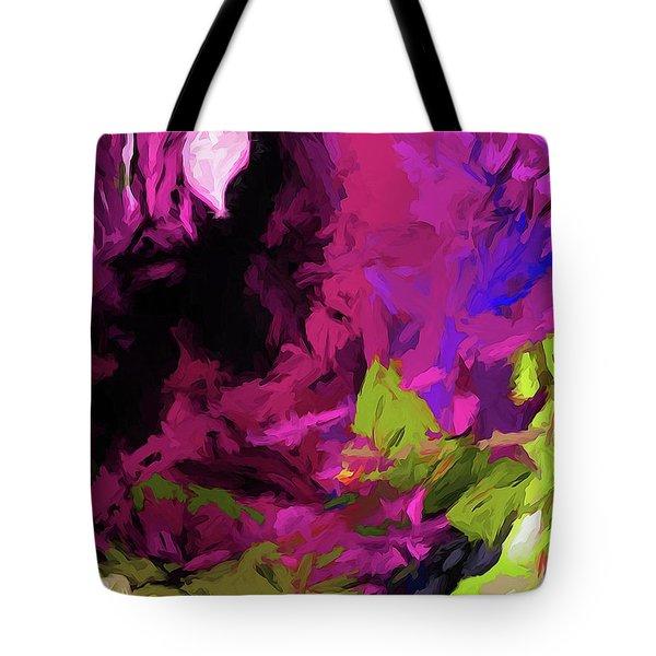 Rose Magenta Tote Bag