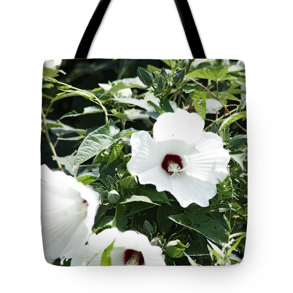 Rose Mallow Tote Bag