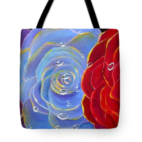 Rose Medley Tote Bag