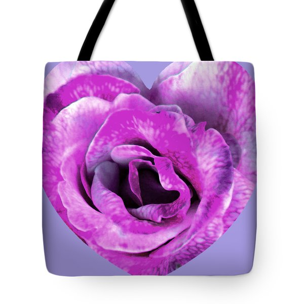 Rose Nepenthe Heart Tote Bag