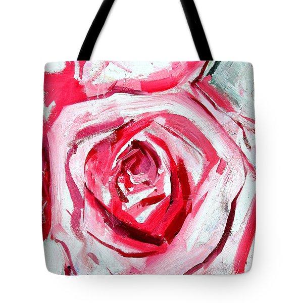 Rose Number 4 Tote Bag by John Jr Gholson