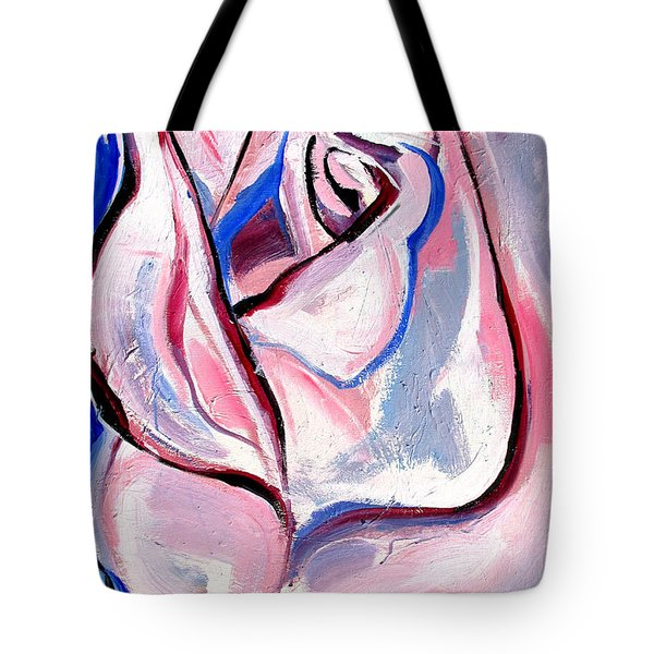 Rose Number 5 Tote Bag