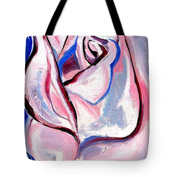 Rose Number 5 Tote Bag