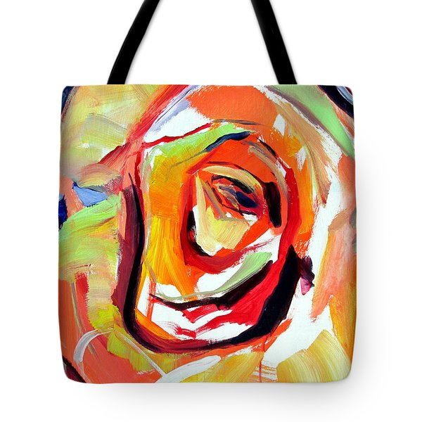 Rose Number 6 Tote Bag