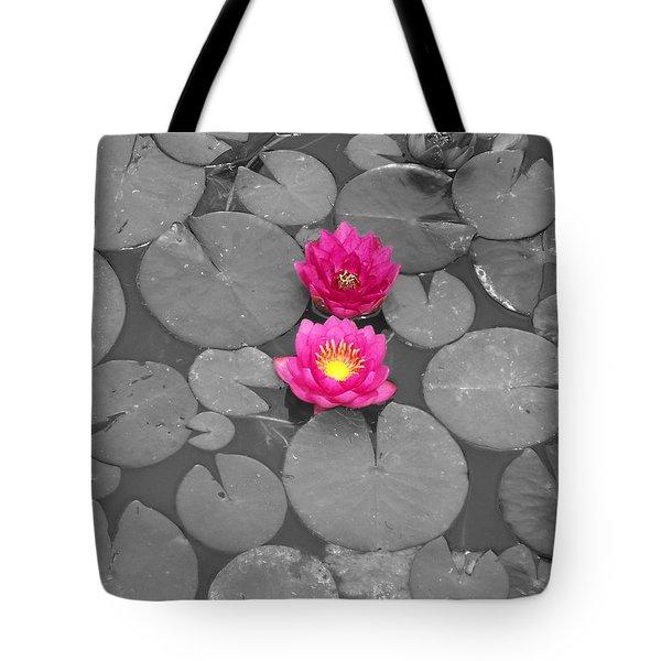 Rose Of The Water Tote Bag