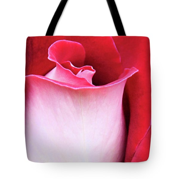 Tote Bag featuring the photograph Rose Petals by Kristin Elmquist