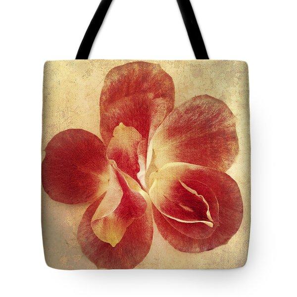 Tote Bag featuring the photograph Rose Petals by Linda Sannuti