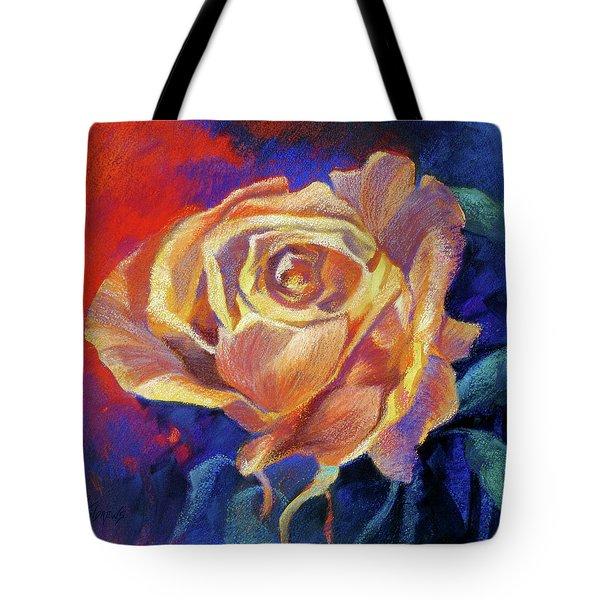 Rose Tote Bag by Rae Andrews