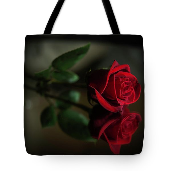 Rose Reflected Tote Bag