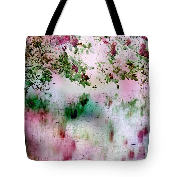 Rose Reflections Tote Bag