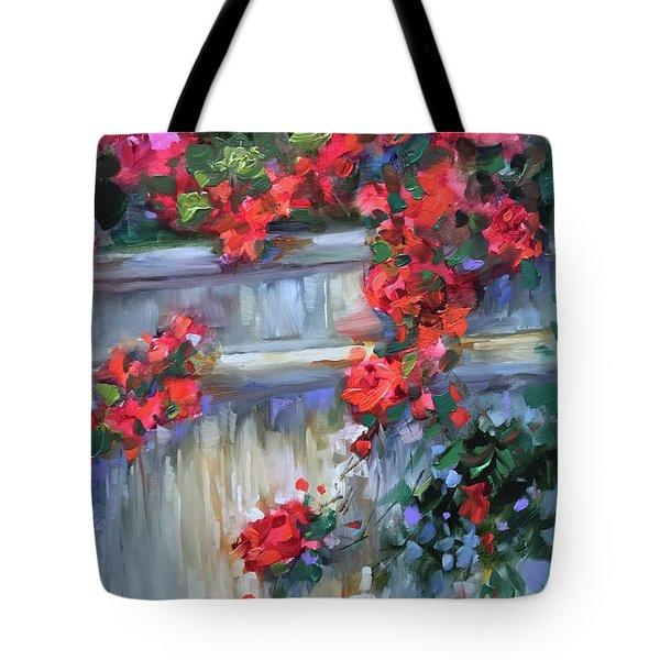 Rose Retreat Tote Bag