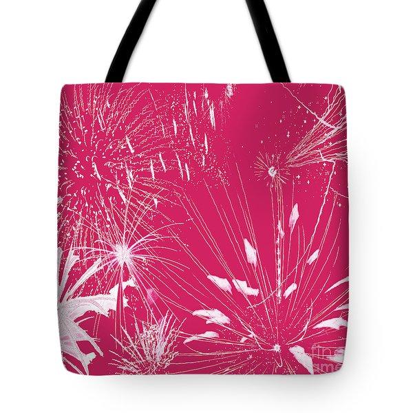 Rose Splash Tote Bag by Methune Hively