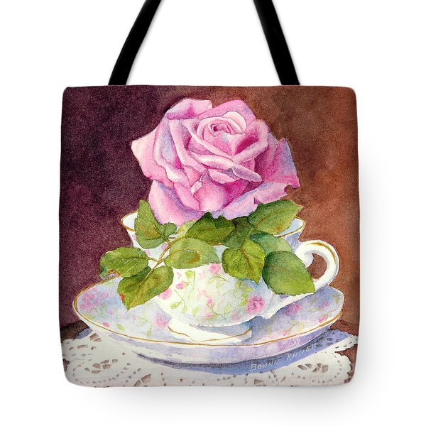 Rose Tea Tote Bag