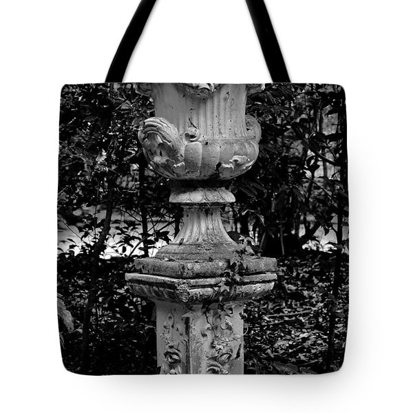 Rose Urn Tote Bag by DigiArt Diaries by Vicky B Fuller