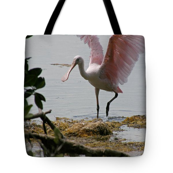 Roseate Wave Tote Bag
