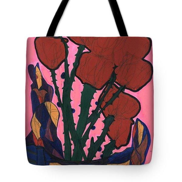 Rosebed Tote Bag