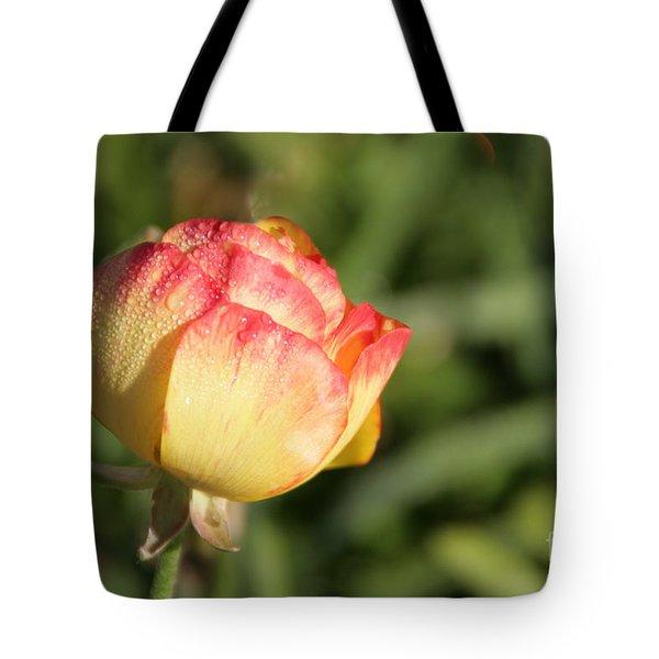 Rosebud Tote Bag by Andrea Jean