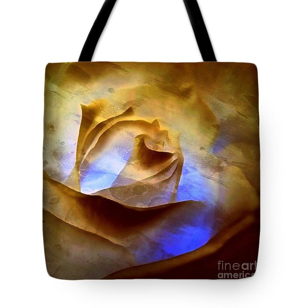 Tote Bag featuring the photograph Rosebud - Till We Meet Again by Janine Riley