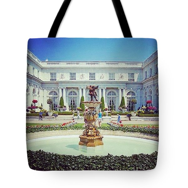 A Luxurious Afternoon  Tote Bag