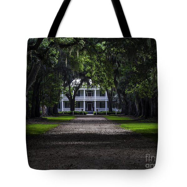 Rosedown Plantation Main House Tote Bag