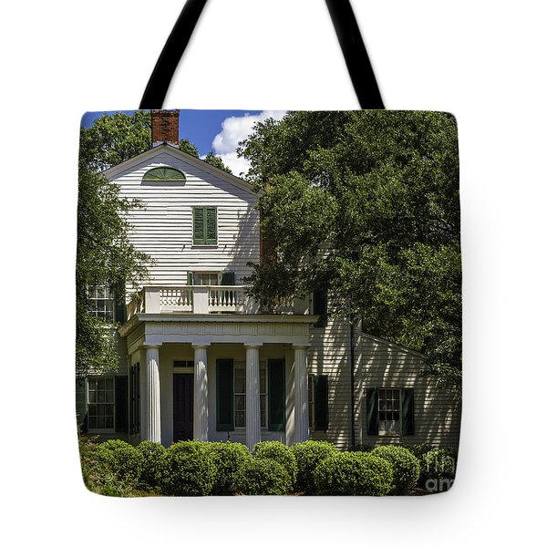 Rosedown Plantation Main House Side View Tote Bag
