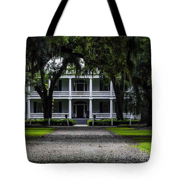 Rosedown Plantation Main House Two Tote Bag