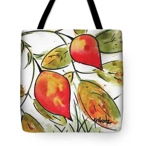 Rosehips In Autumn Tote Bag