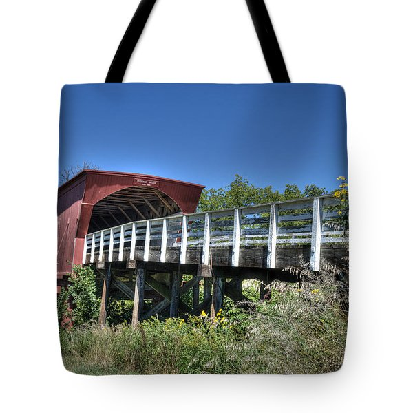 Roseman Bridge No. 5 Tote Bag by Janice Adomeit