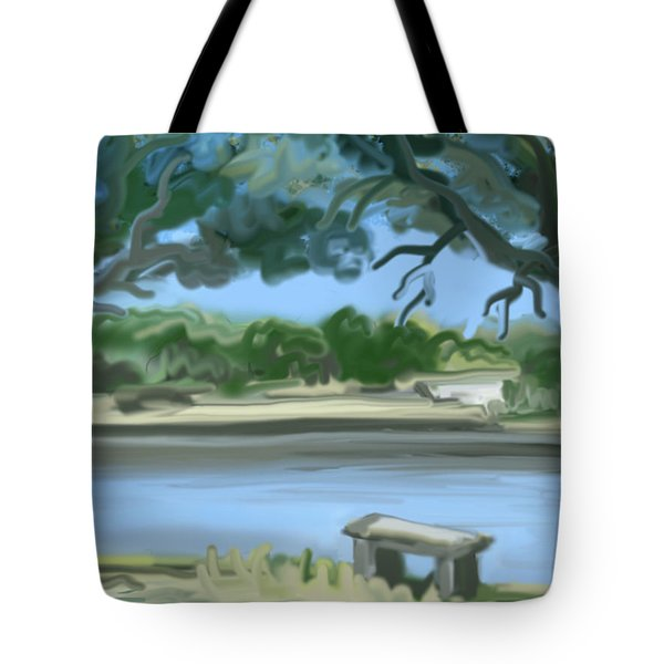 Rosemary Lake Tote Bag