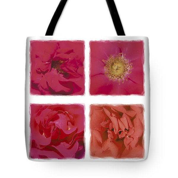 Roses Are Red .... Tote Bag by Hazy Apple