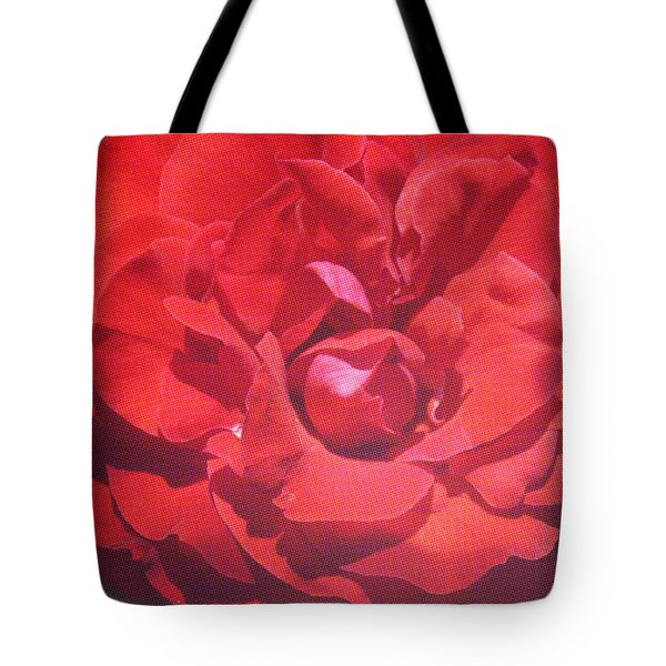Tote Bag featuring the photograph Roses Are Red by Cassandra Buckley