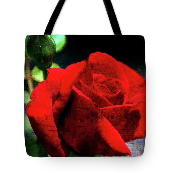 Roses Are Red My Love Tote Bag by Susanne Van Hulst