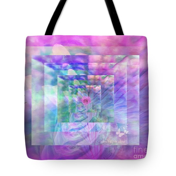 Roses Are Red Violets Are Blue These Roses Are Just For You Tote Bag by Sherri's Of Palm Springs