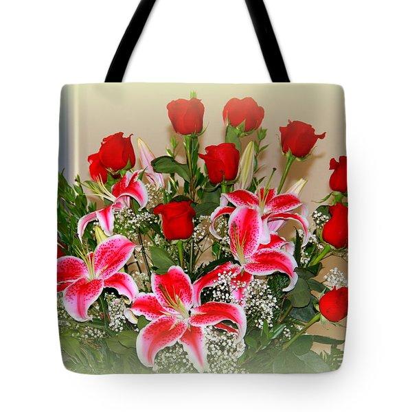 Rose's Tote Bag by Athala Carole Bruckner