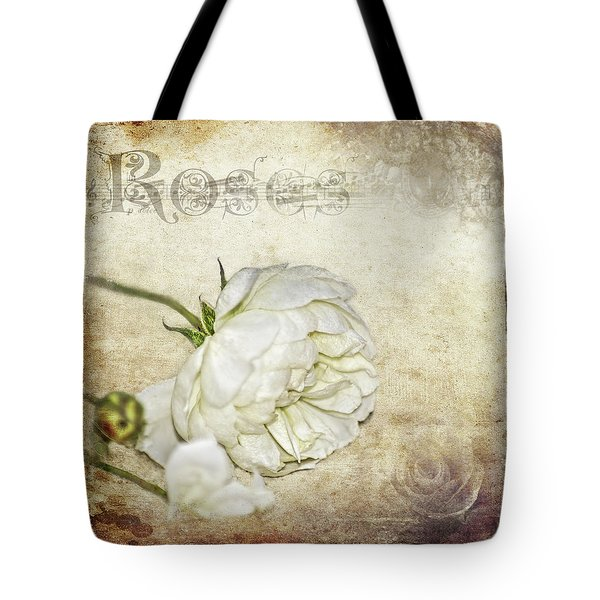 Roses Tote Bag by Carolyn Marshall