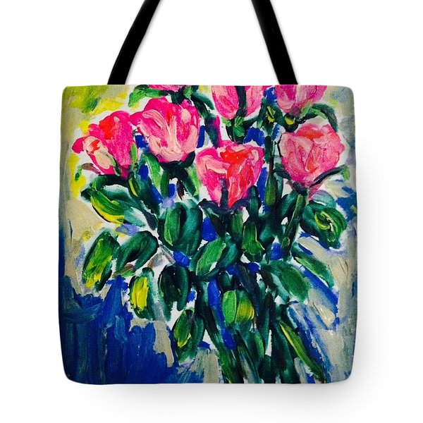 Roses For Hannah Tote Bag