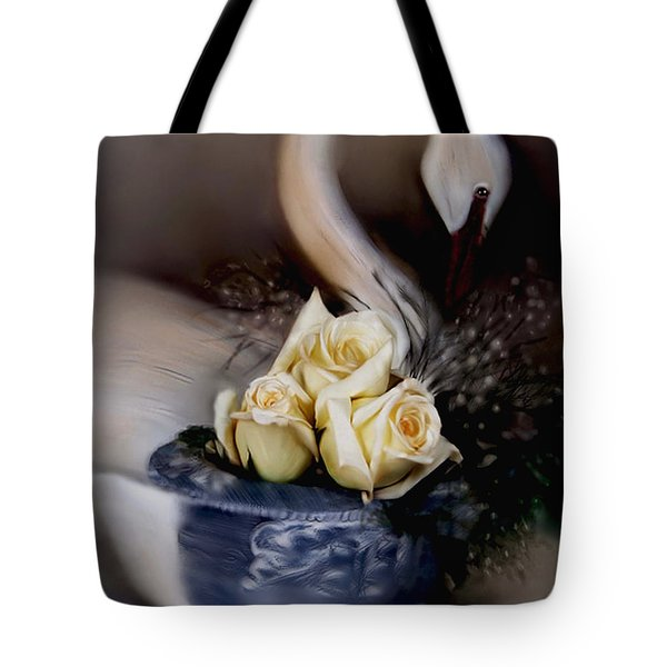 roses for Susan Tote Bag by Bonnie Willis