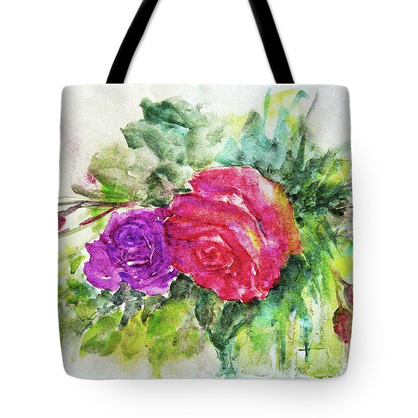 Roses For You Tote Bag by Jasna Dragun