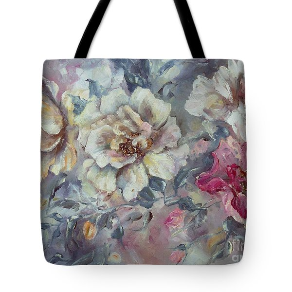 Roses From A Friend Tote Bag