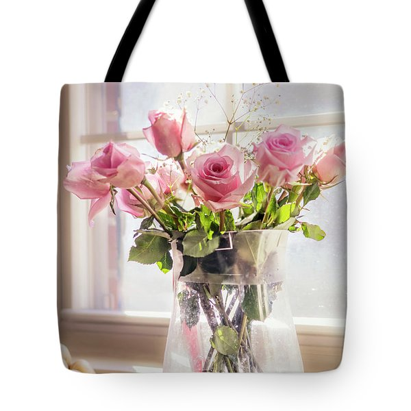 Roses In The Kitchen Tote Bag