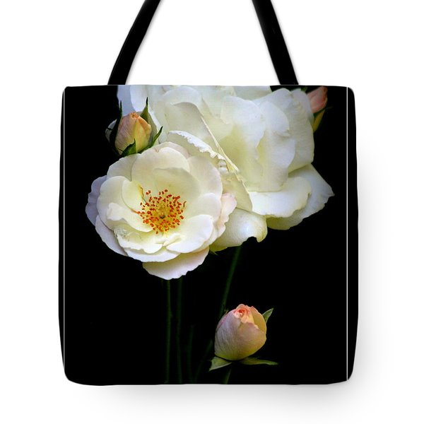 Tote Bag featuring the photograph Roses by Irina Hays
