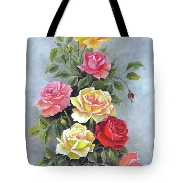 Roses Tote Bag by Katia Aho