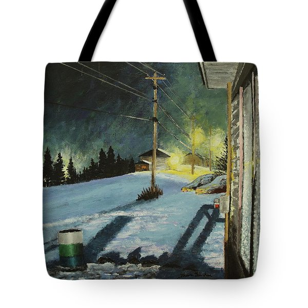Roses Lane Tote Bag