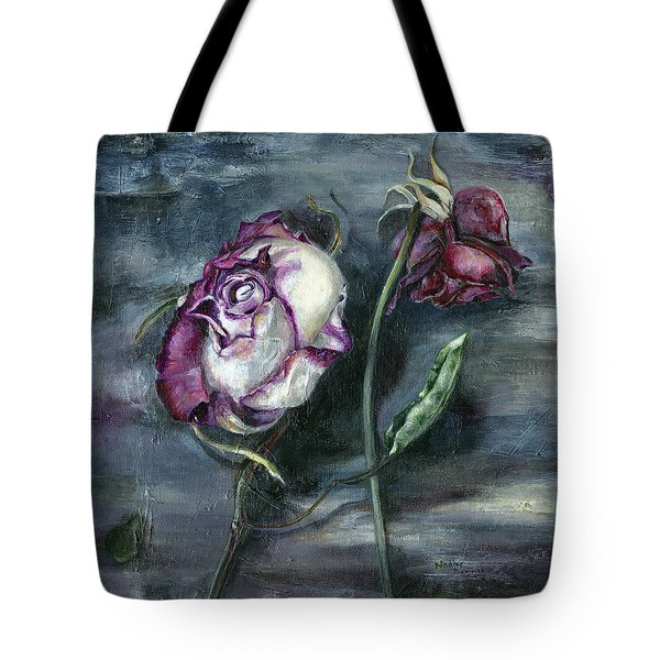 Roses Never Die Tote Bag
