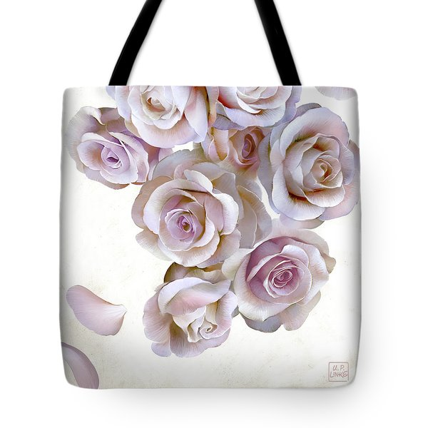Roses Of Light Tote Bag