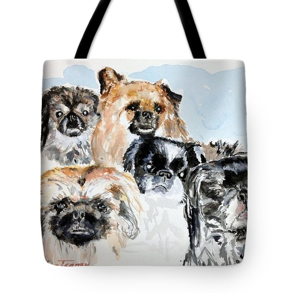 Rose's Pekingese Tote Bag