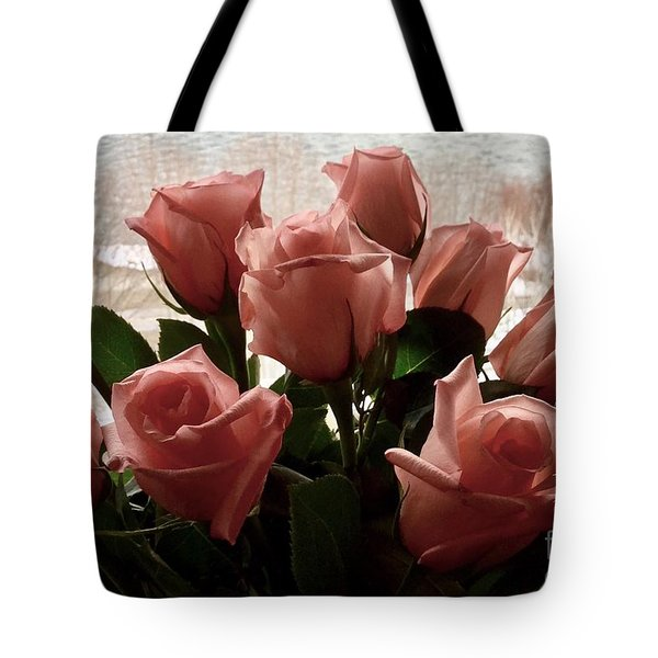Roses With Love Tote Bag