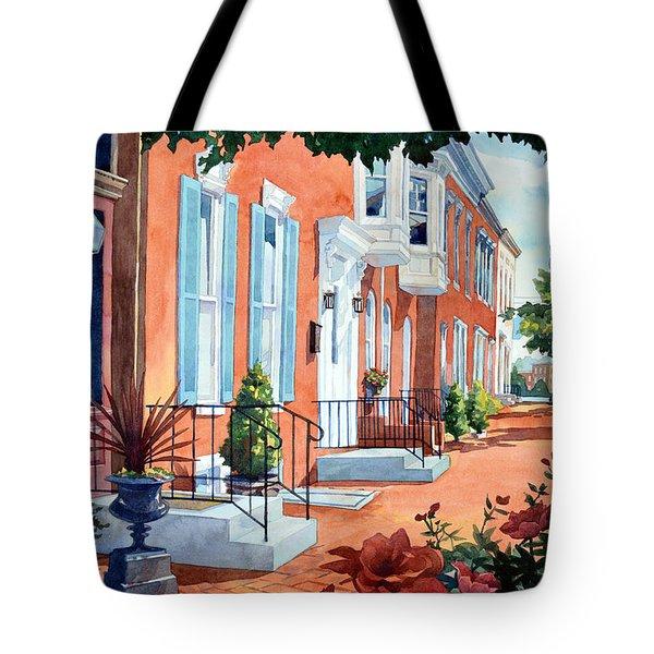 Rosewalk Tote Bag